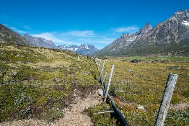 Camino de Tasiusaq, Groenlandia.